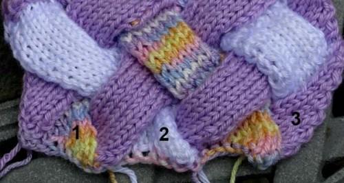 KnittingEntrelacWeaveBottom